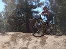 Riding at Truckee BMX Park