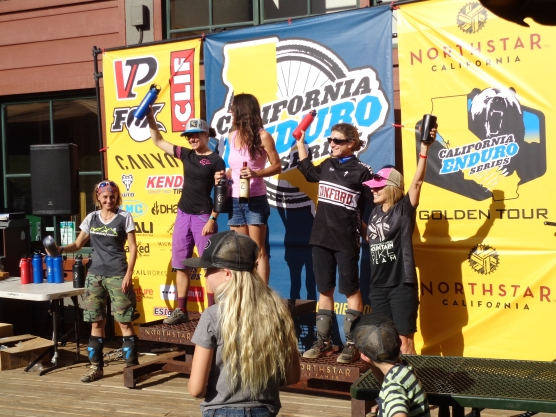 First Place Podium