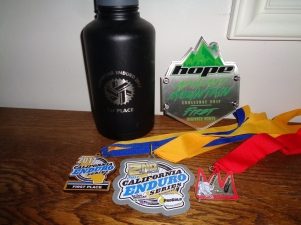 5 Podium Awards (I missed the ceremonies for Mammoth Bar & Toro Park)