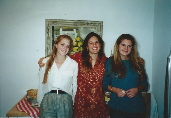 Mary, Bonnie, and I