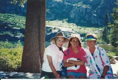 Betty May Rinehart Meub (Grandmommy), Auntie Ann, & I