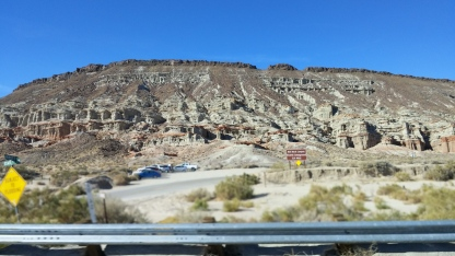 Red Rock Canyon @ 70mph