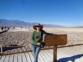 My Beautiful sister, Badwater