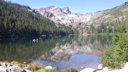 Sardine Lake With Sierra Buttes