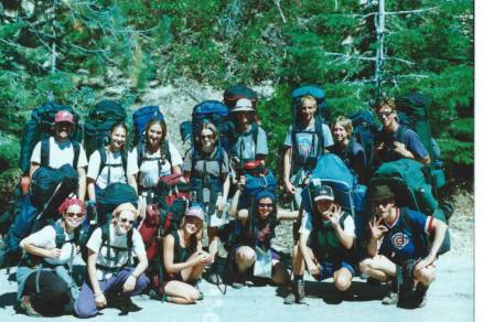 1998: First Backpacking Trip