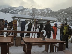 Apres Ski at the Base of Kicking Horse